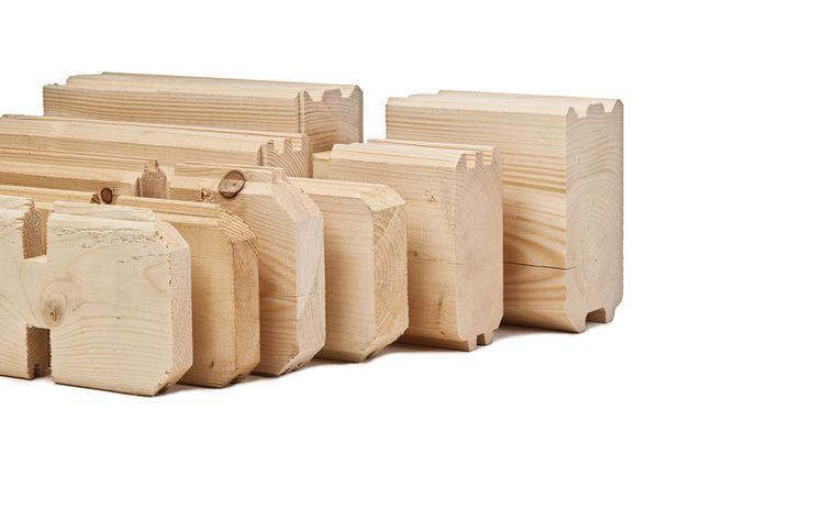 blokhutprofiel hout
