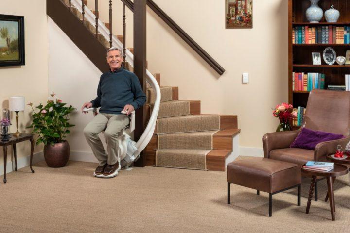 Groeiende vraag naar trapliften in bestaande en nieuwe woningen
