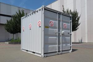 Waarom een materiaalcontainer kopen of huren?