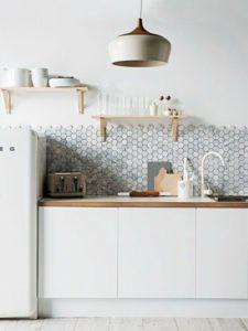 Een unieke keuken met mozaïek tegels bij Tegelmegashop