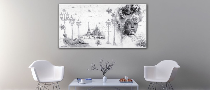 De ruimte en het schilderij