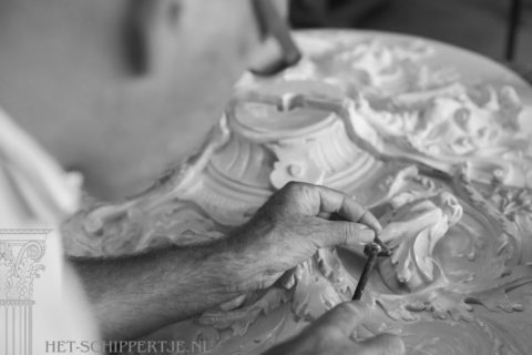 Plafondrestauratie – Authentiek Vakwerk