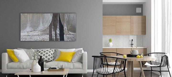 Inspiratie: Grote schilderijen en wanddecoraties