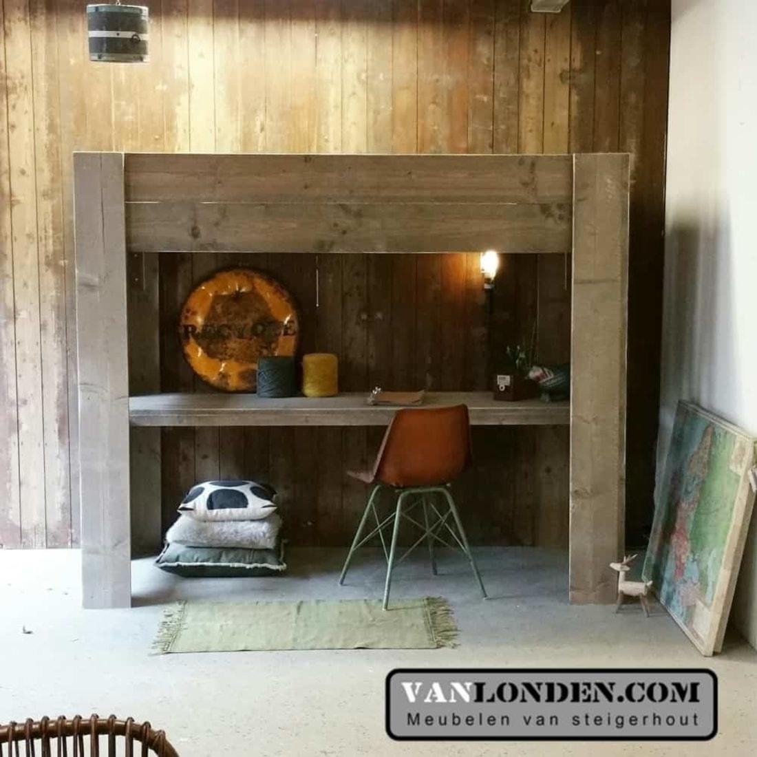 De steigerhouten meubelen die passen