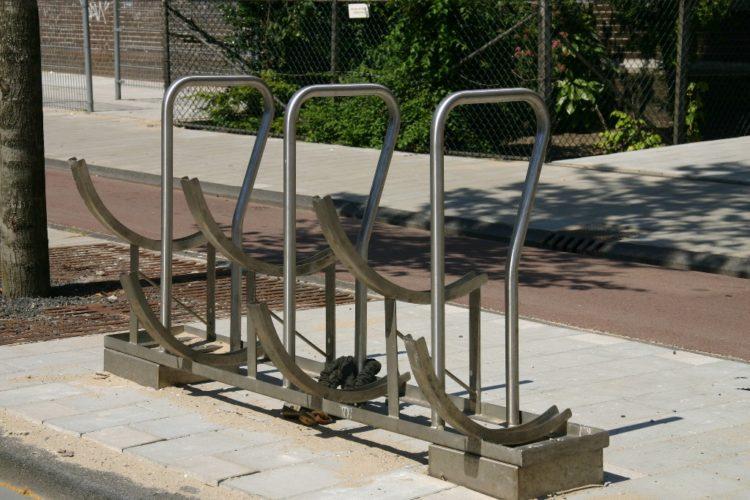 Een fietsenrek voor buiten