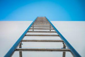 Zo werk je veilig met ladders