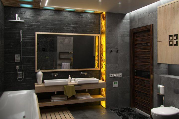 De juiste verlichting in de badkamer: waar moet je op letten?