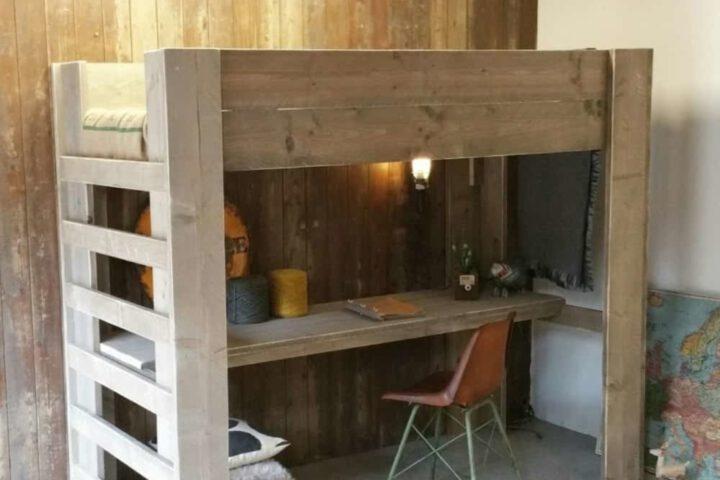 De rustieke charme van meubelen van steigerhout