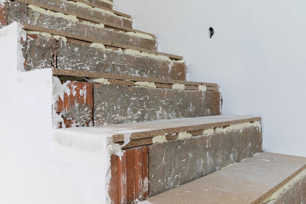 nieuwbouw trap
